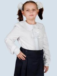 Школьные Блузки С Жабо Купить